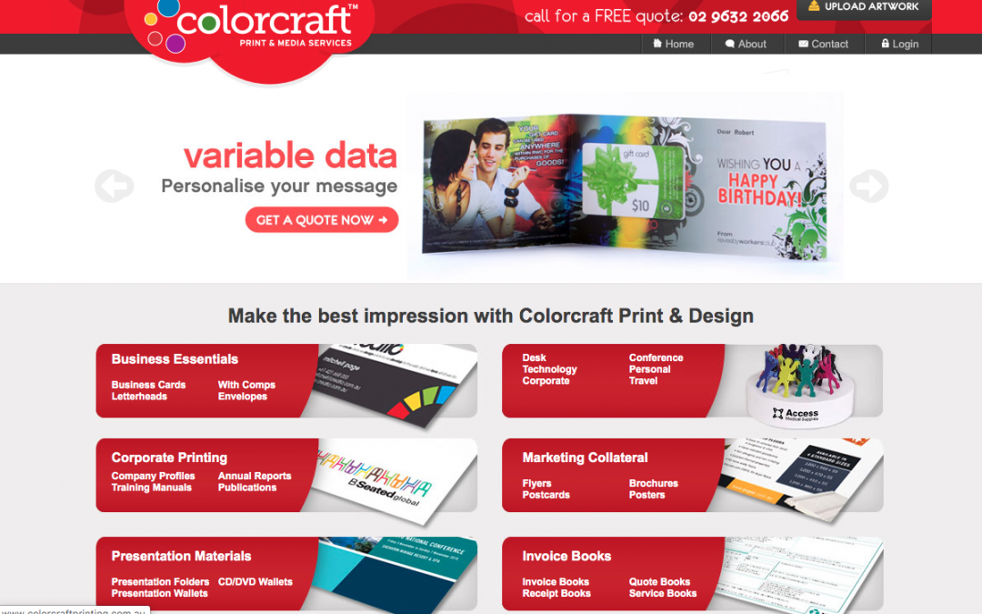 COLORCRAFT PRINT AND MEDIA
